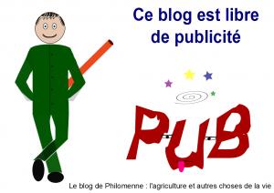 blog sans pub